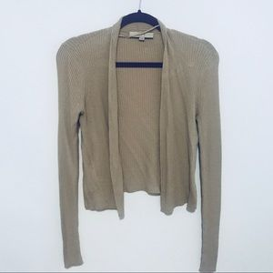 Open Beige Cardigan